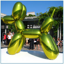 Large Size Stainless Steel Balloon Dog Sculpture